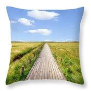Kampen - Sylt Throw Pillow by Joana Kruse