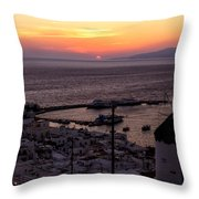 Mykonos Throw Pillow