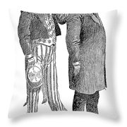 Presidential Campaign, 1904 Throw Pillow