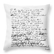 Samuel Taylor Coleridge Throw Pillow