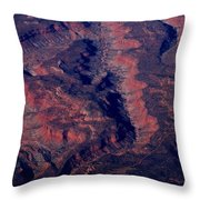 Western United States Throw Pillow