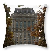 90 West Throw Pillow