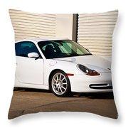 911 Porsche 996 6 Throw Pillow