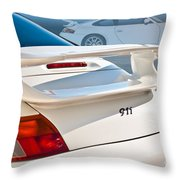 911 Porsche 996 8 Throw Pillow