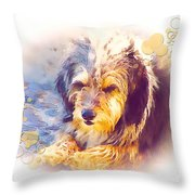 A 001 Throw Pillow