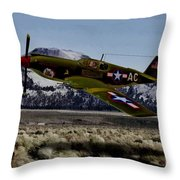 A-36 Apache Recon Throw Pillow