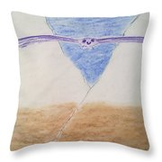 A Balanced View Throw Pillow