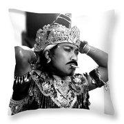 A Balinese Smoke Throw Pillow