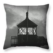 A Beacon In The Night Throw Pillow