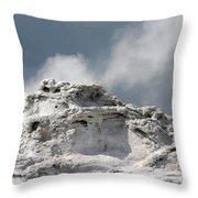 A Beautiful Geyser Throw Pillow