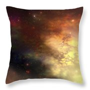 A Beautiful Nebula Out In The Cosmos Throw Pillow