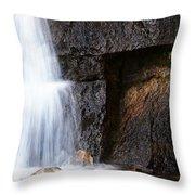 A Beautiful Waterfall Throw Pillow
