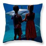 A Big Fish Throw Pillow