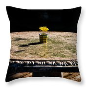A Bright Spot Throw Pillow