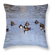 A Bunch Throw Pillow