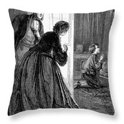 A Childs Prayer Throw Pillow