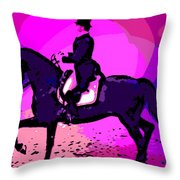 A Circus Atmosphere Throw Pillow
