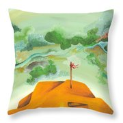 A Clearer View Throw Pillow