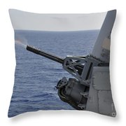 A Close-in Weapons System Aboard Throw Pillow