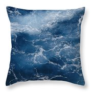 A Close View Of Different Shades Throw Pillow