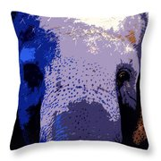 A Colorful Elephant Work Number 1 Throw Pillow