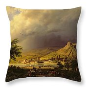 A Coming Storm Throw Pillow
