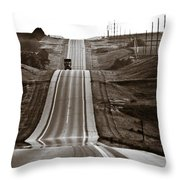 A Country Mile 2 Throw Pillow