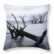 A Dark And Stormy Morning Throw Pillow
