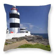 A Day At The Hook  Throw Pillow