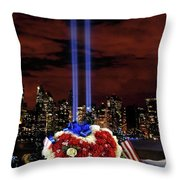A Day Of Remembrance Nine Eleven Throw Pillow