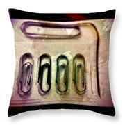 A Dirty Bunch Throw Pillow