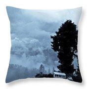 A Dreamlike  View Throw Pillow