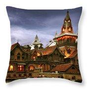 A Fairytale - Eric Moller Villa Shanghai Throw Pillow by Christine Till