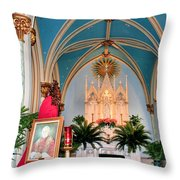 A Farewell To Pope John Paul II Throw Pillow by Kristin Elmquist