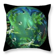 A Few Egrets Throw Pillow