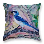 A Fine Feathered Friend Throw Pillow