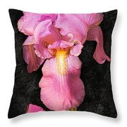 A Flora Is Natures Painting Throw Pillow
