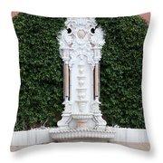 A Fountain In Istanbul Throw Pillow