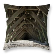 A Frame Throw Pillow