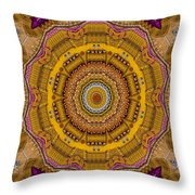A Friendly Star To Land On Throw Pillow
