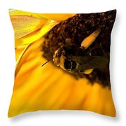 A Full Load Throw Pillow