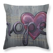 A Future Of Hope Throw Pillow