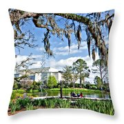 A Gentle Afternoon Throw Pillow