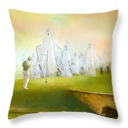 A Ghost Of A Chance Throw Pillow