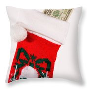 A Gift From Santa Throw Pillow
