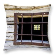 A Glimpse Into Another World Throw Pillow by Joanne Smoley