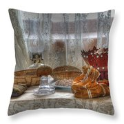 A Glimpse Into The Past Throw Pillow