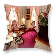 A Glimpse Into Yesteryear Throw Pillow