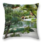 A Glimpse Of Tranquility Throw Pillow