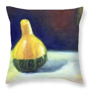 A Gourd  Throw Pillow
